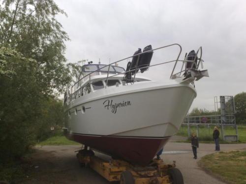 Schilderwerk casco Turfschip
