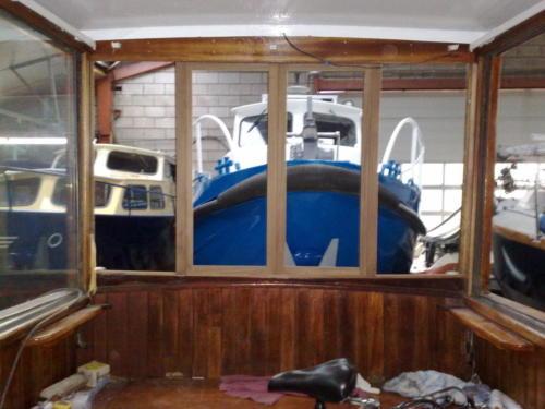 Verbouwing schip