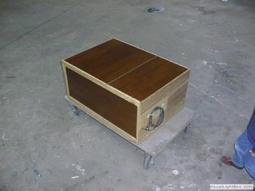 Koelbox in hout